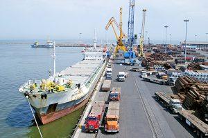 پایانه صادراتی - کشتی - حمل و تقل دریایی
