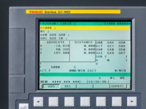 Panel of Fanuc 0i Controller