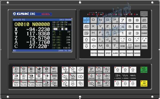 نمایی کلی از کنترل جی اس کا مدل 980 ام دی آ