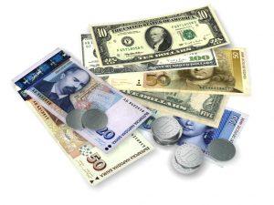 برابری نرخ ارز - برابری ریال در برابر پولهای رایج دنیا
