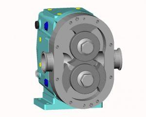 پمپ های جابه جایی مثبت - پمپ های دندهای - Positive Displacement Pumps - www.nabat.biz