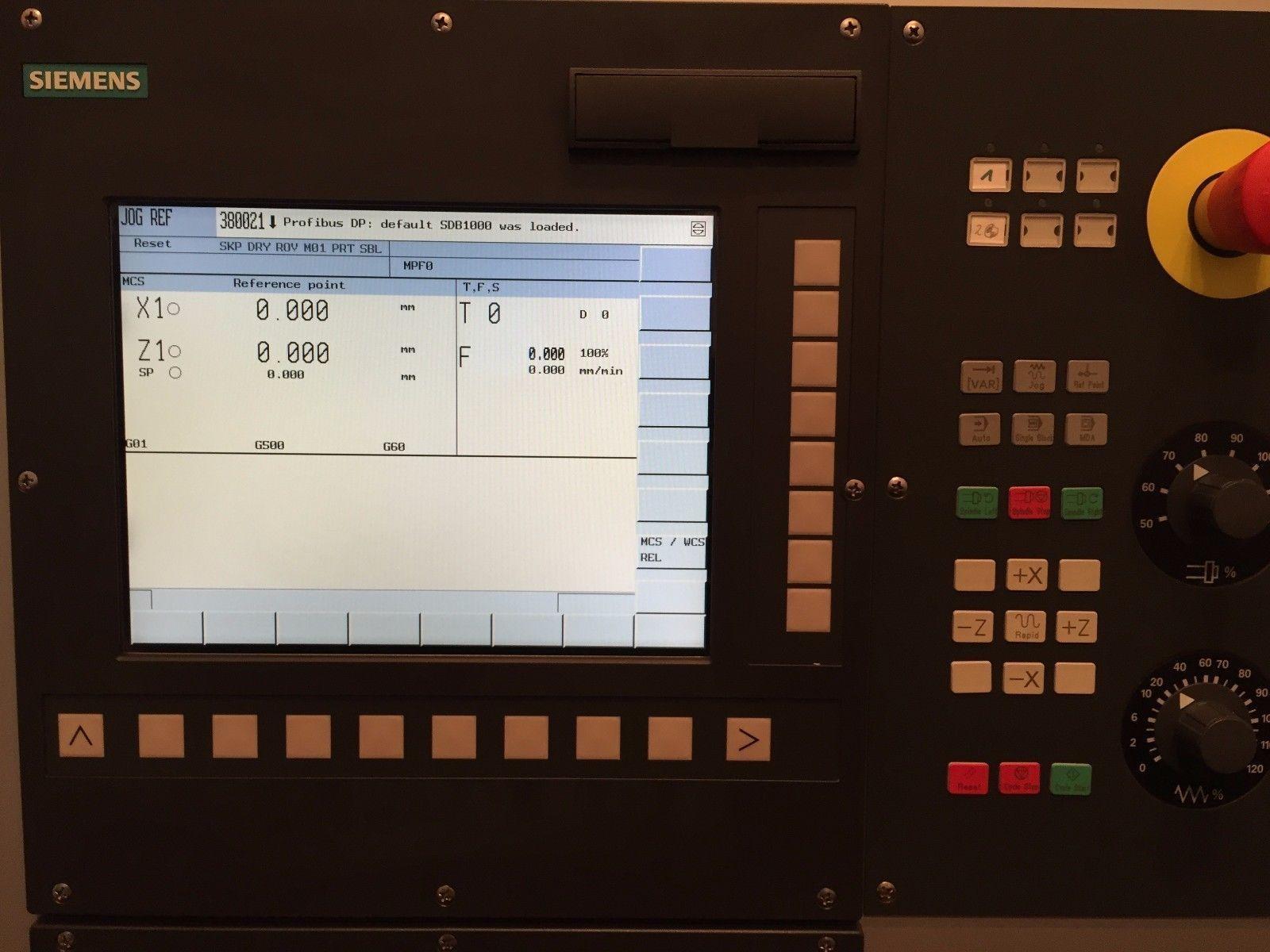 نمای کلی از کنترلر 802 دی شرکت زیمنس آلمان - شرکت نبات