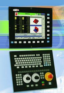 Toujours attentif au marché, FAGOR AUTOMATION présente le CNC FAGOR 8070. Une nouvelle famille de commandes numériques répondant aux exigences de l'usinage à grande vitesse. Avec l'aide de la CNC FAGOR 8070, nous pouvons exécuter n'importe quelle instruction dans un temps minimum sans perte de précision d'usinage. La CNC FAGOR 8070 peut commander jusqu'à 16 axes, 1 broche et 3 manivelles. Avec la CNC FAGOR 8070, les temps d'usinage, sans entraîner une augmentation des temps de programmation, sont considérablement réduits - Da sempre attenta al mercato, FAGOR AUTOMATION presenta la FAGOR 8070 CNC. Una nuova famiglia di controlli digitali che soddisfano le esigenze di lavorazione ad alta velocità. Con l'aiuto della FAGOR CNC 8070 siamo in grado di eseguire qualsiasi istruzione in un tempo minimo, senza perdita di precisione di lavorazione. Il CNC FAGOR 8070 è in grado di controllare fino a 16 assi, 1 mandrino e 3 manovelle. Con il FAGOR CNC 8070, i tempi di lavorazione, senza che ciò comporti un aumento dei tempi di programmazione, sono notevolmente ridotti