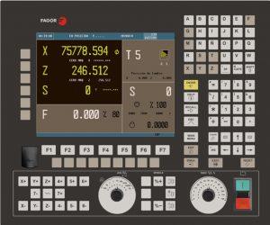 FAGOR 8055 má schopnost být naprogramován pomocí norma ISO programy nebo příkazy programování na vysoké úrovni, stejně jako Fagor programovacím režimu konverzace. Simulace obrábění s grafikou ve 3D, pevné a pro dráhy nástroje lineární, kruhové a spirálovité interpolace až 7 os současně. Má také inteligentní editor profilu a na palubě logického analyzátoru - Le Fagor 8055 peut être programmé en utilisant des programmes iso standard ou des instructions de programmation de haut niveau ainsi que la programmation en mode Conversation Fagor. Simulation d'usinage avec graphiques en 3D, solide et pour trajectoire d'outil Interpolation linéaire, circulaire et hélicoïdale jusqu'à 7 axes simultanément. Il possède également un éditeur de profil intelligent et un analyseur logique embarqué - La Fagor 8055 ha la capacità di essere programmato utilizzando programmi ISO standard o istruzioni di programmazione di alto livello così come Fagor di programmazione in modalità conversazione. Lavorazioni simulazione con grafica in 3D, solida e per percorso utensile lineare, interpolazione circolare ed elicoidale fino a 7 assi contemporaneamente. Essa ha anche un editor di profili intelligente ea bordo analizzatore logico