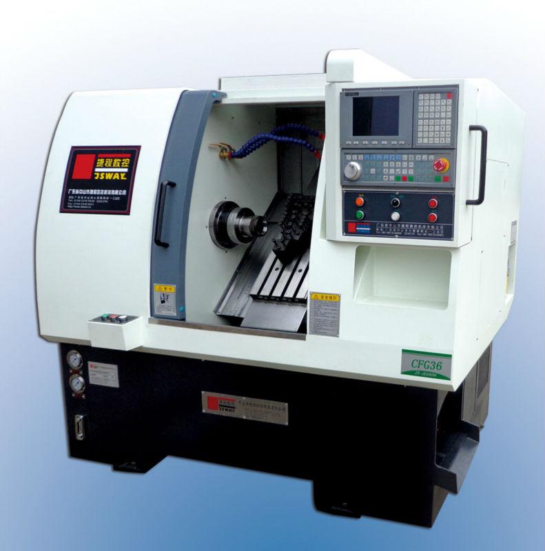 Cnc machine - Lathe - CFG36 - JS-Tomi - NABAT.Biz