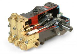 پمپهای پیستونی (piston pumps) از نوع پمپهای جابهجایی (displacement pumps) و رفتوبرگشتی