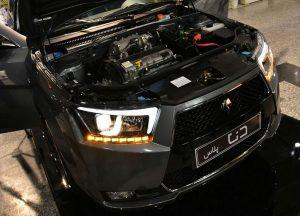 Автомобильные обзоры Дена - первый национальный автомобиль иранцы - Технические характеристики и фотографии Dena - Dena TurboC harged двигателя - Недостатки - Преимущества - Мотор-EF 7 бензин и CNG основе - галогенные и светодиодные - задние светодиодные, противотуманные фары передние и задние, светодиодные считыватель - свет - новые списки IKCO Dena - двигатель EF 7 турбинным - Samand Soren - 5-ступенчатая механическая коробка - системы, такие как диски, электроусилитель руля, зеркало, электрический складывания, противотуманные фары, цвет внутренней отделки, сиденья боковой - NX7 - расстояние между две оси передних и задних колес (мм) - к юго-востоку от Азии - Азия - электрические стеклоподъемники передних и задних двери- Ближний восток - Гидравлический - оснащен аудиосистемой - громкой мобильные контроль - круиз-контроль -