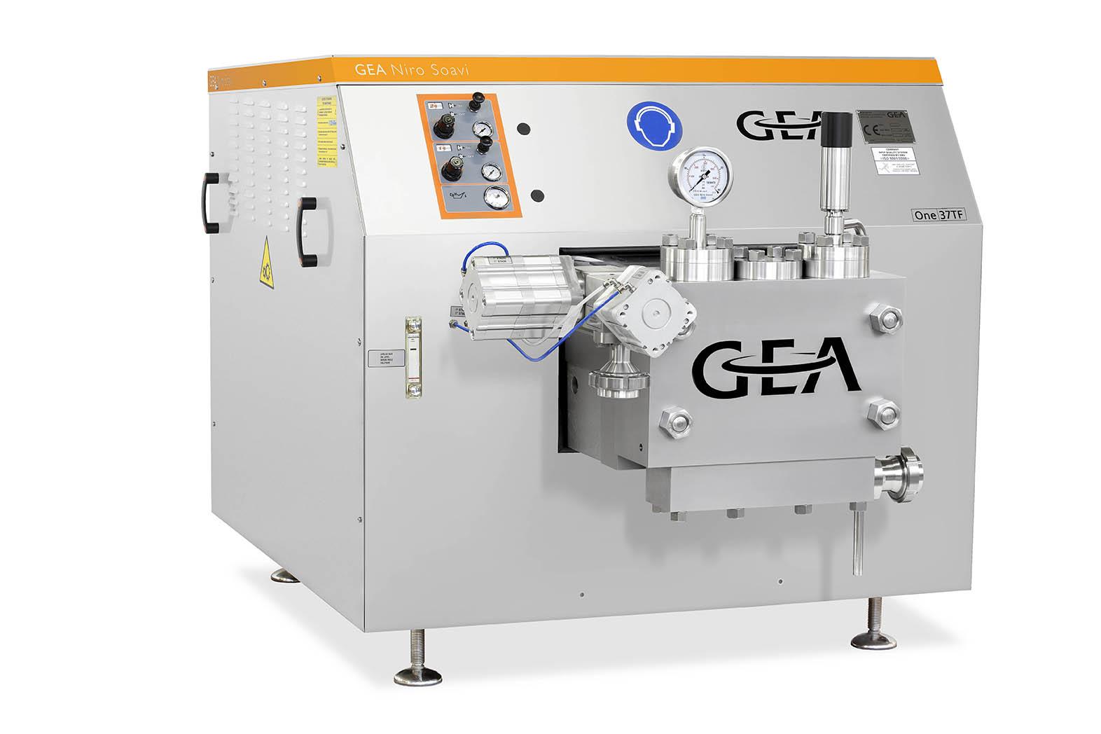 هموژنایزر - هموژنایزر GEA - دستگاه هموژنایزر - شرکت GEA - GEA Niro Soavi - شرکت گ.آ - homogenizer - GEA homogenizer - One37TF