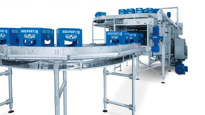 KHS - KHS crate washer - crate washer - KHS cleaning machine - دستگاه شستشو - جعبهشور KHS - جعبهشور - crate rinser - crate washing machine -