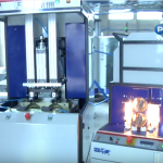 UPF-10 - باد کن - دستگاه باد کن - نیمه اتوماتیک - باد کن نیمه اتوماتیک - بادکن پت تکنولوژی - پت تکنولوژی - بطری پت - پت - blow molding machine - PET - PET technologies -