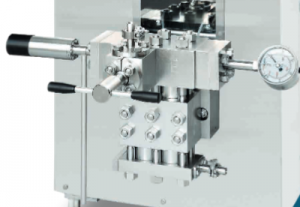 GEA - GEA homogenizer - Ariete NS2006 - هموژنایزر - هموژنایزر گ.آ - هموژنایزر صنعتی - هموژنایزر صنعت غذا - هموژنایزر صنعت دارو - صنایع غذایی - صنایع لبنی - هموژنیزاسیون - compression block - compression head