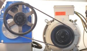 هموژنایزر - هموژنایزر GEA - دستگاه هموژنایزر - شرکت GEA - GEA Niro Soavi - شرکت گ.آ - homogenizer - GEA homogenizer - One37TF - V - تسمه - گیربکس - موتور الکتریکی - belt system - gearbox