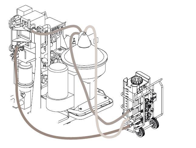 11M-سیستم شستشو در محل-سیستم شستشو در مکان-سیستم شستشو در جا-سیستم CIP-سیستم CIP آلفالاوال-Alfalaval CIP unit-CIP unit for separator-