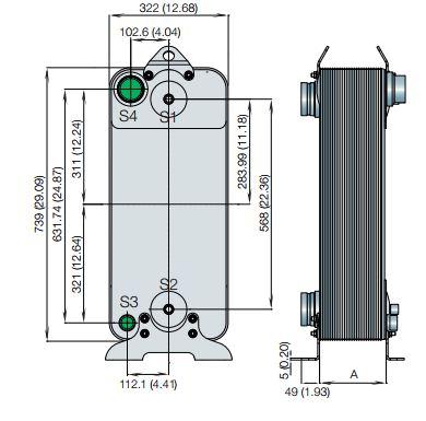 AC500EQ-مبدل حرارتی AC500EQ-مبدل جوشی-مبدل حرارتی صفحهای-مبدل حرارتی آلفالاوال-Alfalaval plate heat exchanger-