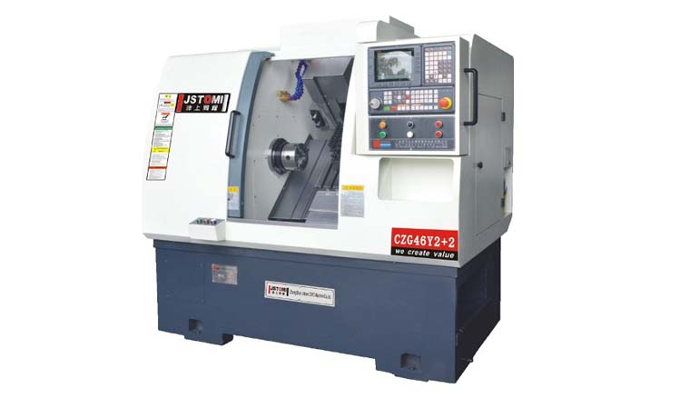 دستگاه سی ان سی تراش - سی ان سی - Turning machine - Lathe cnc machien -