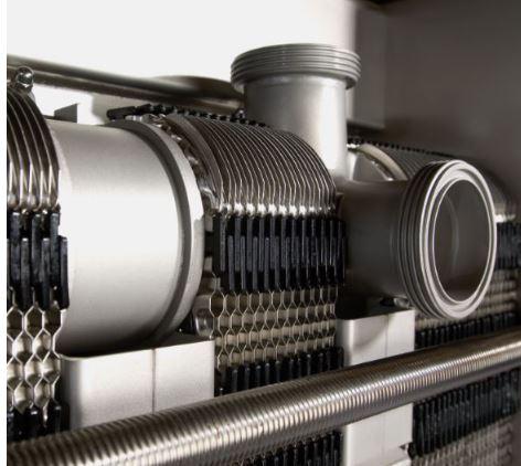 FrontLine 15-مبدل حرارتی صفحهای واشردار-مبدل حرارتی صفحهای آلفالاوال-پاستوریزاتور-Alfalaval gasketed plate heat exchanger-PLC system-