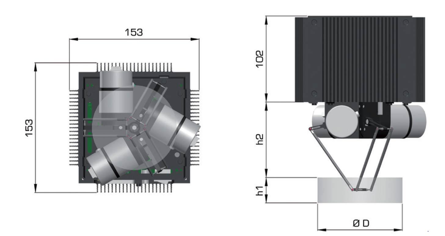 POCKET DELTA-ربات POCKET DELTA از شرکت ASYRIL-ربات های موازی-robot parallel