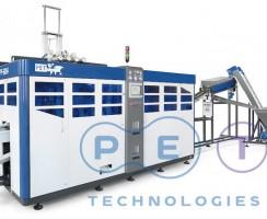 دستگاه بادکن APF-6004 hot fill محصول شرکت پت تکنولوژی