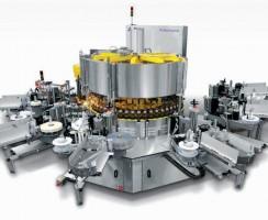 دستگاه برچسبزن Rolladhesive محصول شرکت Sidel