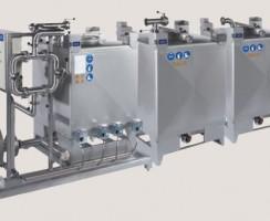 سیستم CIP مدل 1800L محصول شرکت آلفالاوال