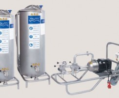 سیستم CIP مدل 400L محصول شرکت آلفالاوال