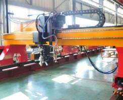 دستگاه برش پلاسما CNCBSG محصول شرکت TAYOR