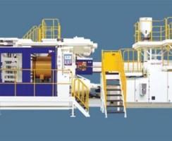 دستگاه تزریق پلاستیک JU-40000 محصول شرکت Haitian