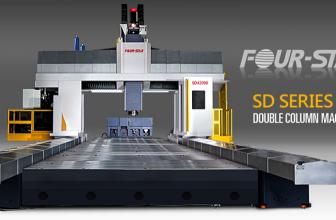 دستگاه سی ان سی فرز دروازهای مدل SD-24 محصول شرکت Four-Star