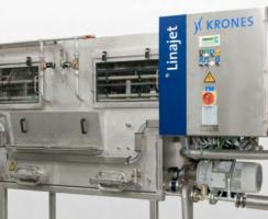 دستگاه جعبهشور Linajet محصول شرکت Krones