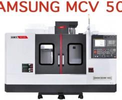 دستگاه سی ان سی MCV 500 محصول شرکت سامسونگ