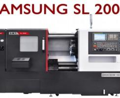 دستگاه سی ان سی SL 2000 محصول شرکت سامسونگ