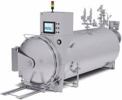دستگاه اتوکلاو Cascading water Static محصول شرکت Steriflow