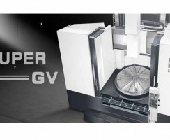 دستگاه سی ان سی تراش عمودی مدل GV-2500 M محصول شرکت Goodway
