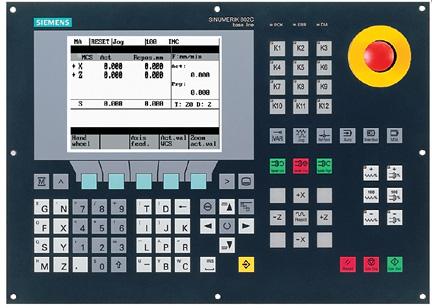 کنترلر مدل 802C محصول شرکت زیمنس