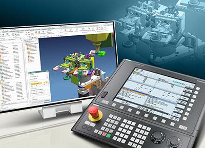 کنترلر مدل 828D Advanced محصول شرکت زیمنس