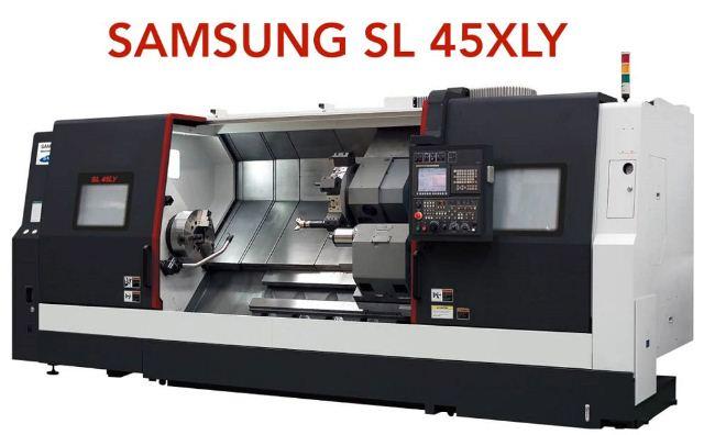 دستگاه سی ان سی SL 45XLY محصول شرکت سامسونگ