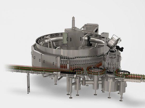 دستگاه پرکن Innofill Glass DRS محصول شرکت KHS