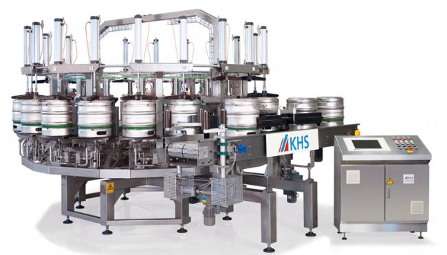 دستگاه پرکن Innokeg Contikeg محصول شرکت KHS
