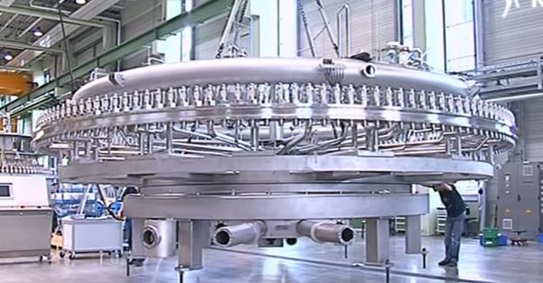 دستگاه پرکن Modulfill HRS محصول شرکت Krones