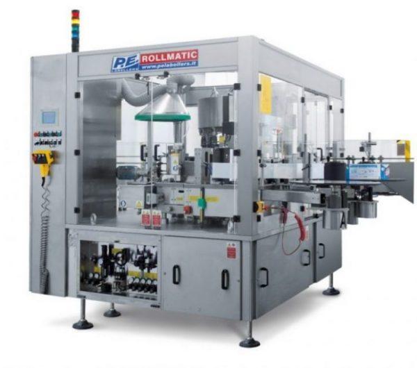 دستگاه برچسبزن ROLLMATIC محصول شرکت P.E.labellers