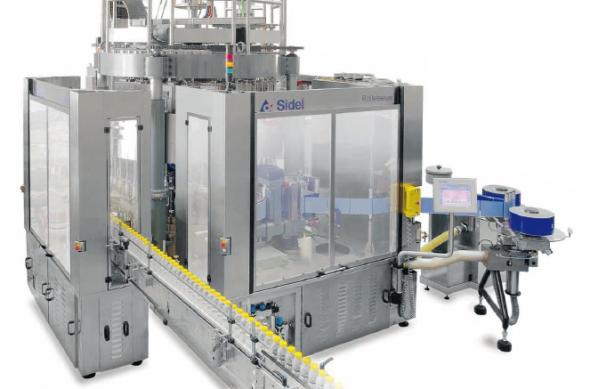دستگاه برچسبزن Rollsleeve محصول شرکت Sidel