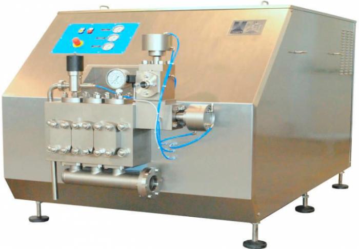 دستگاه هموژنایزر Raffaello HA35 محصول شرکت Bertoli