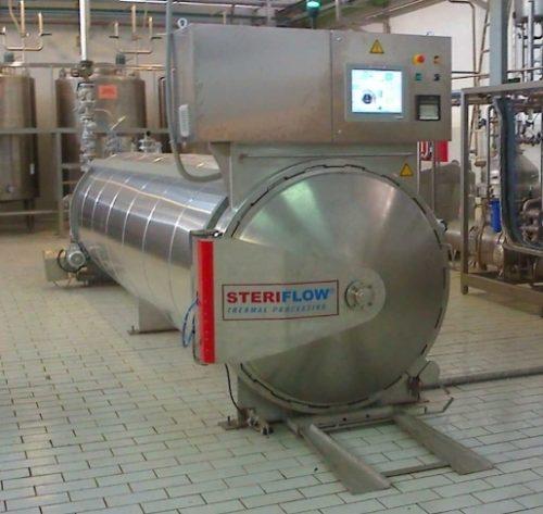 دستگاه اتوکلاو Cascading water Dali محصول شرکت Steriflow
