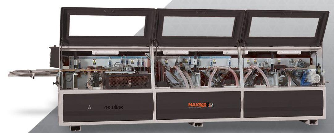 دستگاه لبهچسبان FKN 530 محصول شرکت MakserTeam