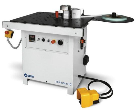دستگاه لبهچسبان MINIMAX E 10 محصول شرکت SCM