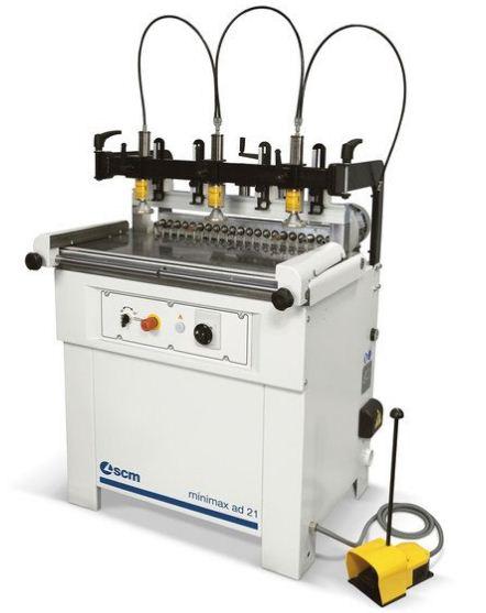 دستگاه سوراخزن minimax ad 21 محصول شرکت SCM