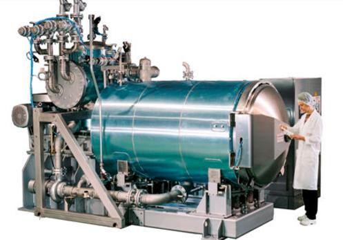 دستگاه اتوکلاو Cascading water Shaka محصول شرکت Steriflow