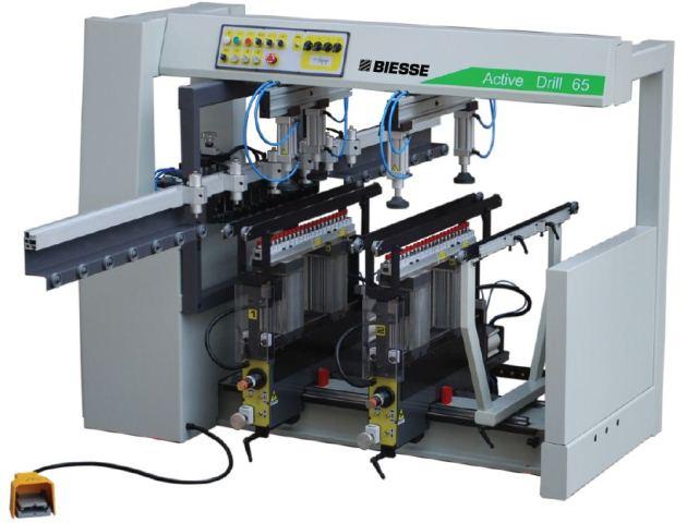 دستگاه سوراخزن  ACTIVE DRILL 65 محصول شرکت BIESSE