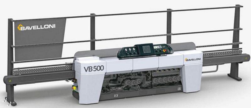 دستگاه پخ زن VB500 محصول شرکت GLASTON BAVELLONI
