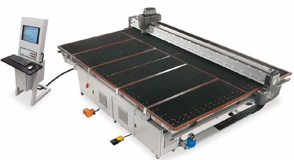 دستگاه برشزن REV 372 SR محصول شرکت GLASTON BAVELLONI